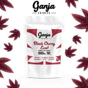 Buy Ganja Leaf Black Cherry – 1000 MG online Canada