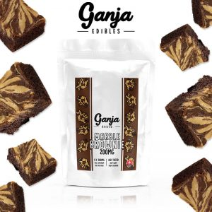 Buy Ganja Baked – Marble Chocolate (200MG) online Canada
