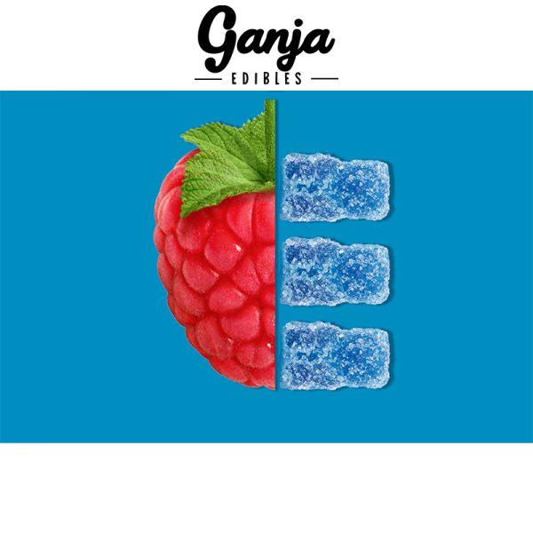 Buy Ganja Edibles – Sour Raspberry Gummy Bears 150MG online Canada