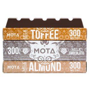 Buy MOTA – Milk Chocolate Bar Edible (300MG) online Canada