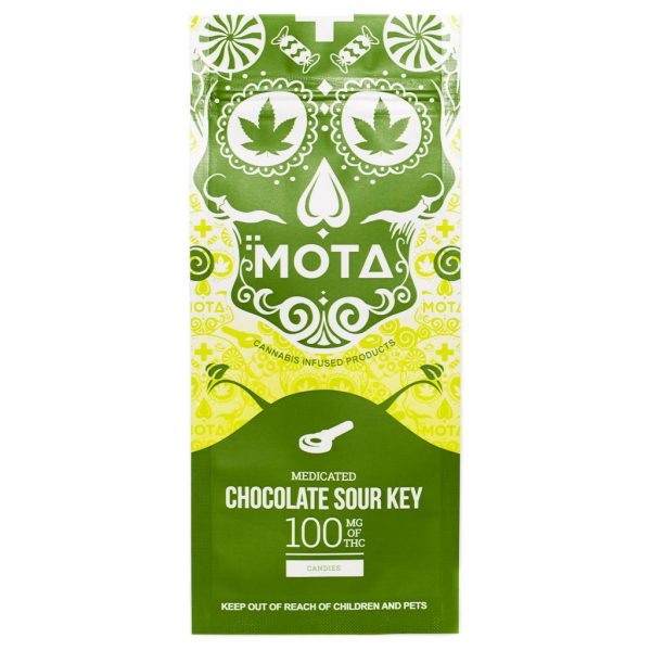 Buy MOTA – Chocolate Dipped Sour Key (100MG) online Canada