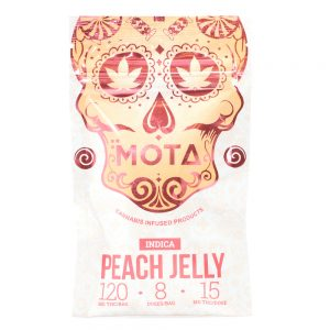 Buy MOTA – Peach Jelly Indica (120MG THC) online Canada