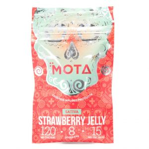 Buy MOTA – Strawberry Jelly Sativa's (120MG THC) online Canada