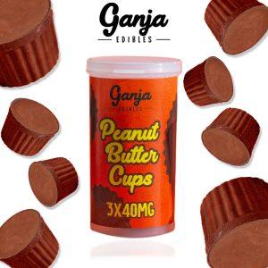 Buy Ganja Edibles Peanut Butter Cups online Canada