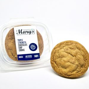 Buy Mary's Medibles – Triple Strength Chocolate Chip Cookie (140MG) INDICA online Canada