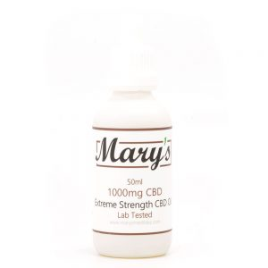 Buy Mary's Medibles – Extreme Strength CBD Oil 1000MG online Canada