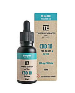 Buy Twisted Extracts Tincture – CBD 10 Oil online Canada