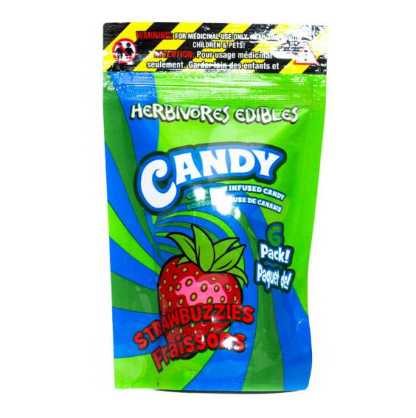 Buy HERBIVORE EDIBLES – Watermelon Gummys (125MG THC) online Canada
