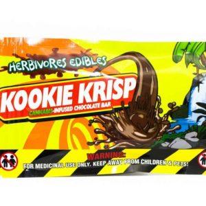 Buy HERBIVORE EDIBLES – Kookie Krisp (100MG THC) online Canada