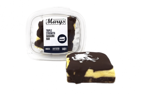 Buy Mary's Medibles – Triple Strength Nanaimo Bar (140MG) online Canada