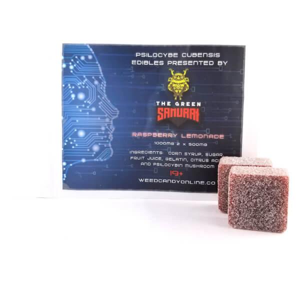 Buy PSILOCYBE RASPBERRY LEMONADE EDIBLE BY GREEN SAMURAI (3000MG) online Canada